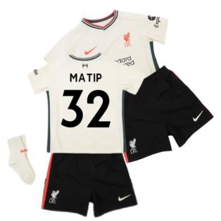 Liverpool 2021-2022 Away Baby Kit (MATIP 32)