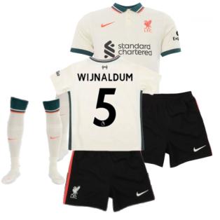 Liverpool 2021-2022 Away Little Boys Mini Kit (WIJNALDUM 5)