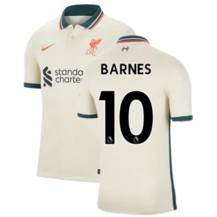 Liverpool 2021-2022 Away Shirt (BARNES 10)