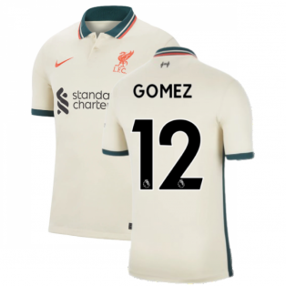 Liverpool 2021-2022 Away Shirt (GOMEZ 12)