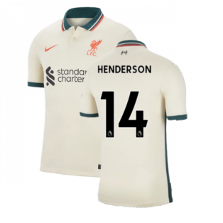 Liverpool 2021-2022 Away Shirt (HENDERSON 14)