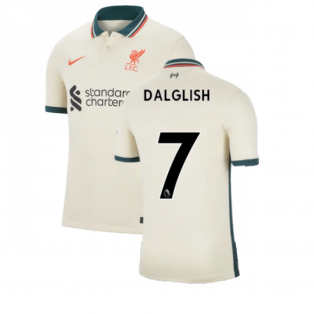 Liverpool 2021-2022 Away Shirt (Kids) (DALGLISH 7)