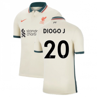 Liverpool 2021-2022 Away Shirt (Kids) (DIOGO J 20)