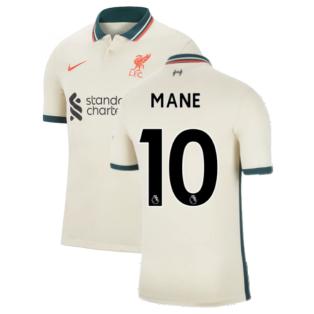 Liverpool 2021-2022 Away Shirt (Kids) (MANE 10)