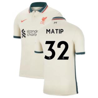 Liverpool 2021-2022 Away Shirt (Kids) (MATIP 32)