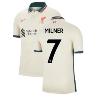 Liverpool 2021-2022 Away Shirt (Kids) (MILNER 7)