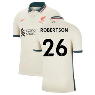 Liverpool 2021-2022 Away Shirt (Kids) (ROBERTSON 26)