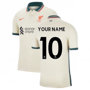 Liverpool 2021-2022 Away Shirt (Kids) (Your Name)