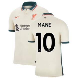 Liverpool 2021-2022 Away Shirt (MANE 10)