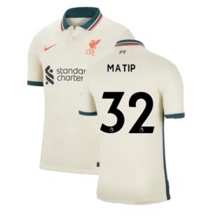 Liverpool 2021-2022 Away Shirt (MATIP 32)