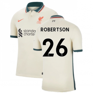 Liverpool 2021-2022 Away Shirt (ROBERTSON 26)