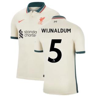 Liverpool 2021-2022 Away Shirt (WIJNALDUM 5)