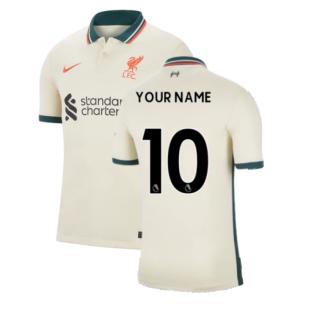 Liverpool 2021-2022 Away Shirt (Your Name)