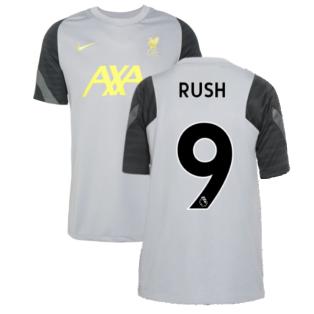 Liverpool 2021-2022 CL Training Shirt (Wolf Grey) - Kids (RUSH 9)