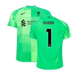 Liverpool 2021-2022 Goalkeeper Shirt (Green) (Dudek 1)