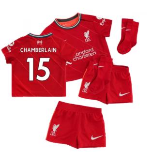 Liverpool 2021-2022 Home Baby Kit (CHAMBERLAIN 15)