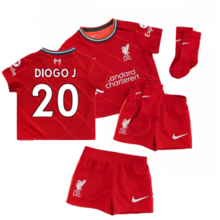Liverpool 2021-2022 Home Baby Kit (DIOGO J 20)