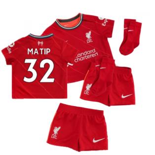 Liverpool 2021-2022 Home Baby Kit (MATIP 32)