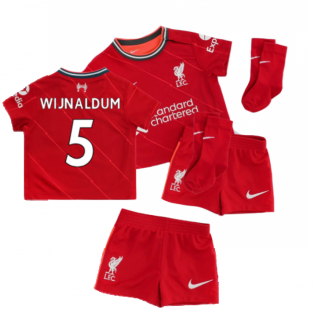 Liverpool 2021-2022 Home Baby Kit (WIJNALDUM 5)