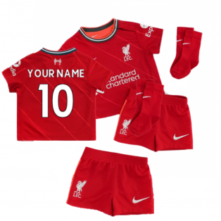 Liverpool 2021-2022 Home Baby Kit (Your Name)