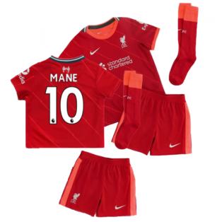Liverpool 2021-2022 Home Little Boys Mini Kit (MANE 10)