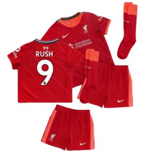 Liverpool 2021-2022 Home Little Boys Mini Kit (RUSH 9)