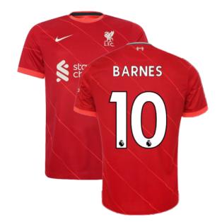 Liverpool 2021-2022 Home Shirt (BARNES 10)