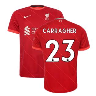 Liverpool 2021-2022 Home Shirt (CARRAGHER 23)