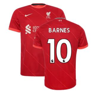 Liverpool 2021-2022 Home Shirt (Kids) (BARNES 10)