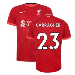 Liverpool 2021-2022 Home Shirt (Kids) (CARRAGHER 23)