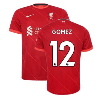 Liverpool 2021-2022 Home Shirt (Kids) (GOMEZ 12)