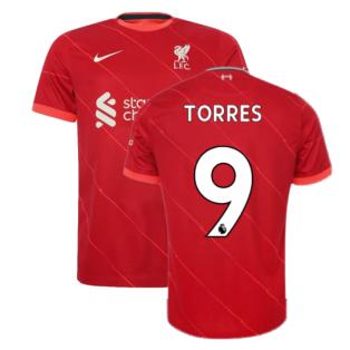 Liverpool 2021-2022 Home Shirt (Kids) (TORRES 9)