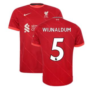 Liverpool 2021-2022 Home Shirt (Kids) (WIJNALDUM 5)