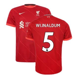 Liverpool 2021-2022 Home Shirt (WIJNALDUM 5)