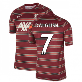 Liverpool 2021-2022 Pre-Match Training Shirt (Red) - Kids (DALGLISH 7)