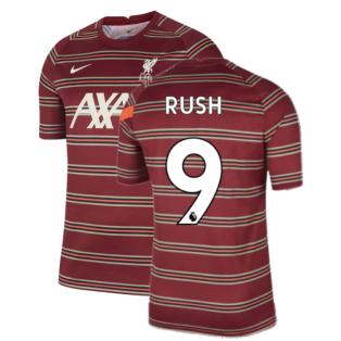 Liverpool 2021-2022 Pre-Match Training Shirt (Red) - Kids (RUSH 9)