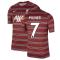Liverpool 2021-2022 Pre-Match Training Shirt (Red) (MILNER 7)