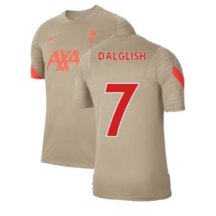 Liverpool 2021-2022 Training Shirt (Mystic Stone) (DALGLISH 7)