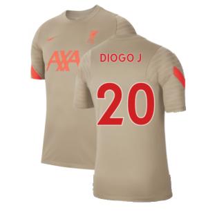 Liverpool 2021-2022 Training Shirt (Mystic Stone) (DIOGO J 20)