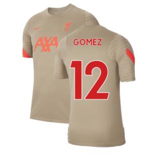 Liverpool 2021-2022 Training Shirt (Mystic Stone) (GOMEZ 12)