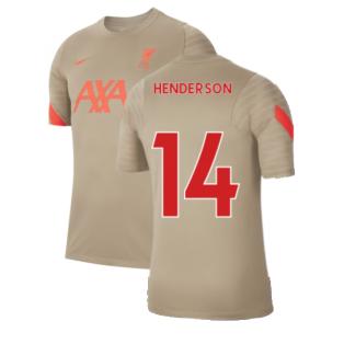 Liverpool 2021-2022 Training Shirt (Mystic Stone) (HENDERSON 14)