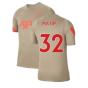 Liverpool 2021-2022 Training Shirt (Mystic Stone) (MATIP 32)