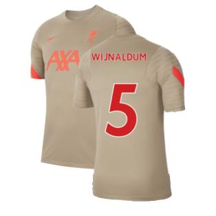 Liverpool 2021-2022 Training Shirt (Mystic Stone) (WIJNALDUM 5)