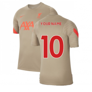 Liverpool 2021-2022 Training Shirt (Mystic Stone) (Your Name)