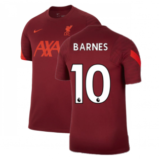 Liverpool 2021-2022 Training Shirt (Team Red) (BARNES 10)