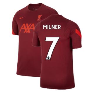 Liverpool 2021-2022 Training Shirt (Team Red) (MILNER 7)