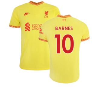 Liverpool 2021-2022 Vapor 3rd Shirt (BARNES 10)
