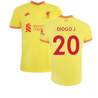 Liverpool 2021-2022 Vapor 3rd Shirt (DIOGO J 20)