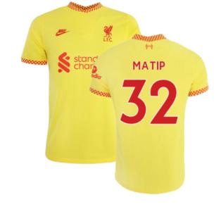 Liverpool 2021-2022 Vapor 3rd Shirt (MATIP 32)