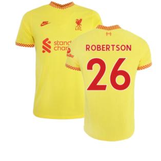 Liverpool 2021-2022 Vapor 3rd Shirt (ROBERTSON 26)